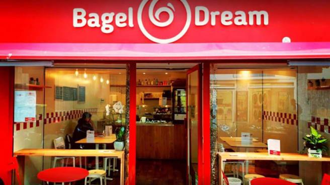 Devanture - Bagel Dream, Paris