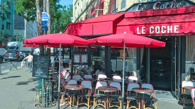terrasse - Le Coche, Paris