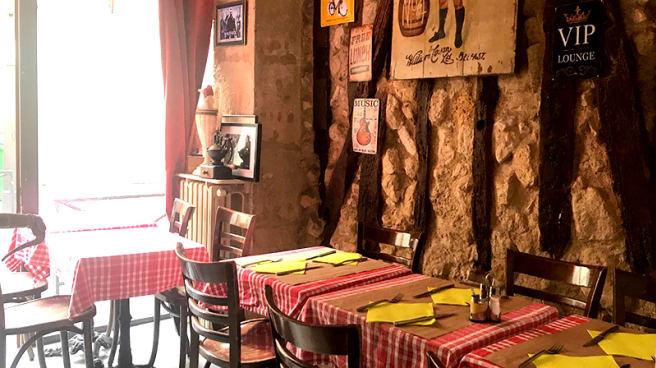 Vue de la salle - Couleur Café, Paris