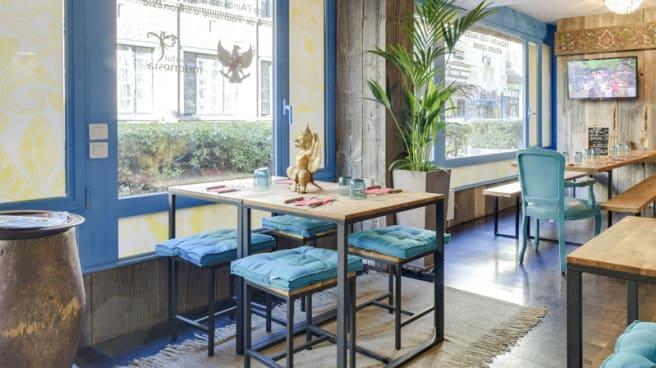 Salle du restaurant - Mamabali, Paris