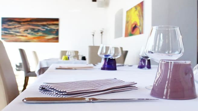 Particolare tavolo - Gran Morane in Contrada, Modena
