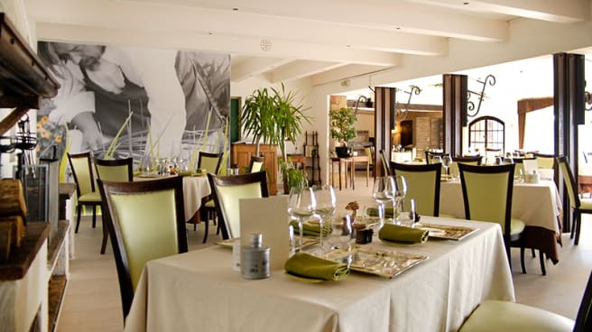 Salle du restaurant - Lou Fassum - Emmanuel Ruz, Grasse