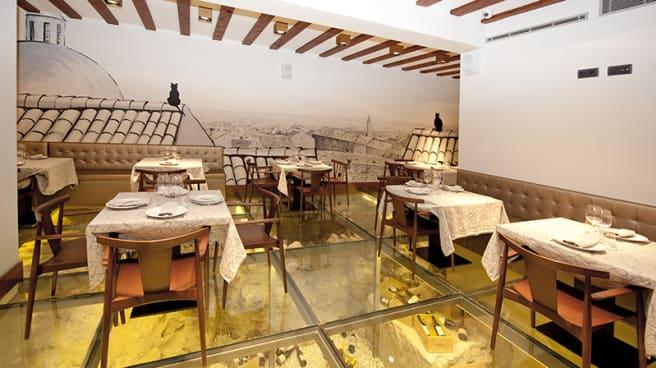 Vista sala - Hotel Posada del León de Oro, Madrid