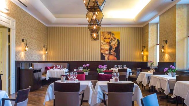 Sala del ristorante - Les Petites Madeleines, Torino