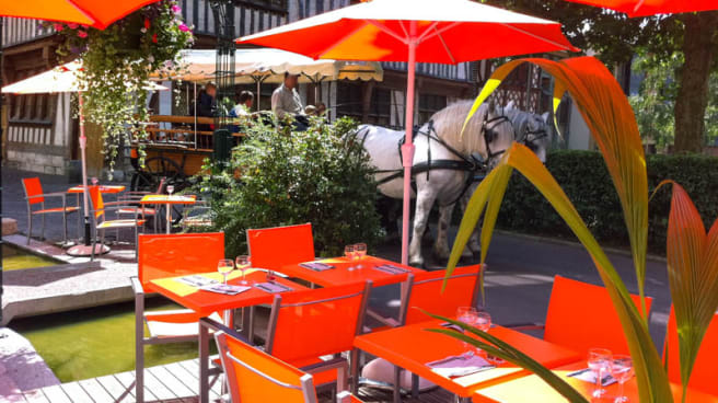 terrasse - La Diva des sens, Rouen