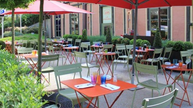 Terrasse - La Pizzeria du Café la Jatte, Neuilly-sur-Seine