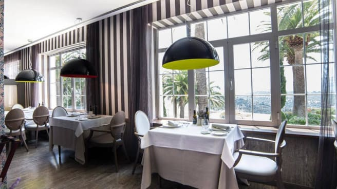 Vista sala - Azahar by Eboca Restaurant - Hotel Catalonia Reina Victoria - Ronda, Ronda
