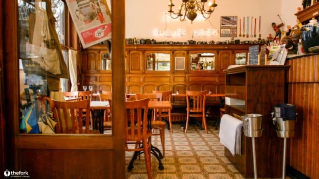 Salle du restaurant - Café Restaurant de la Forêt, Overijse
