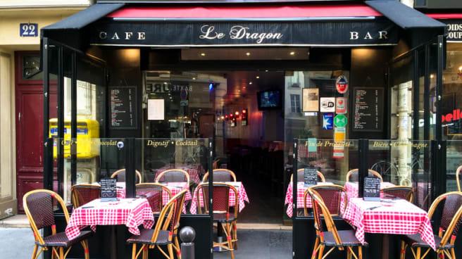 Devanture - Bar Le Dragon, Paris