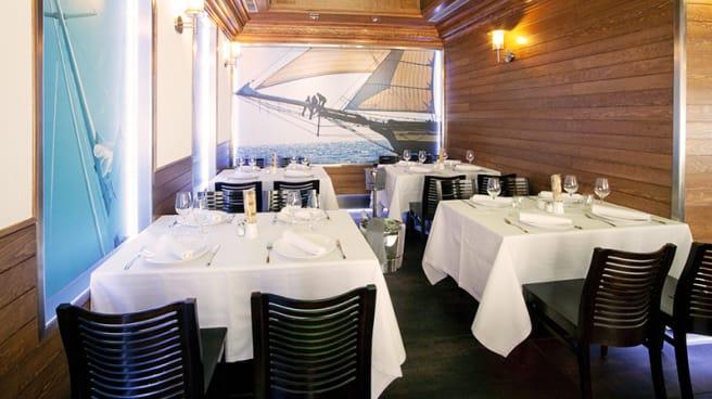Salón comedor - El Pequeño Barco, Madrid