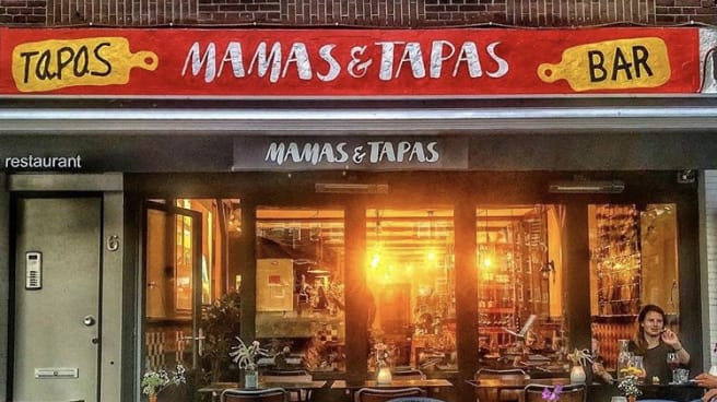 Mamas & Tapas Front - Mamas & Tapas, Ámsterdam