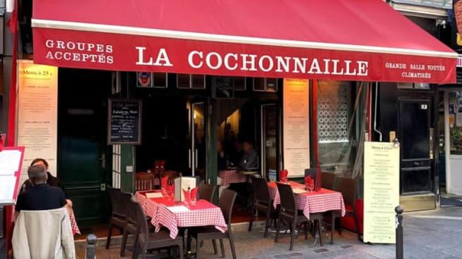 Façade - La Cochonnaille, Paris