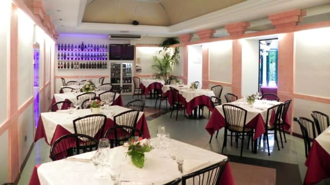 Sala - Restaurant Park presso Hotel Villa Robinia, Genzano di Roma