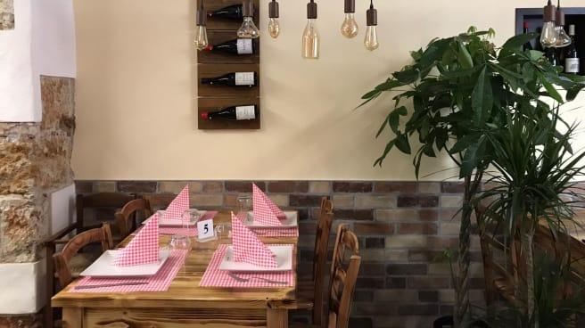 Sala - Cacio e pepe Cucina Romana, Palermo