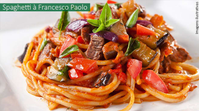 Spaghetti à Francesco Paolo - Don Pepe Di Napoli – Arapanés, São Paulo