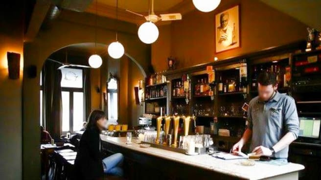 Salle - Nick's Cafe, Antwerp