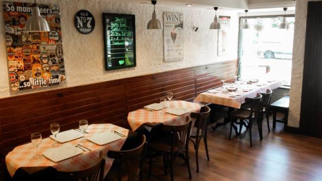 Vista sala - Jack's Tavern, Madrid