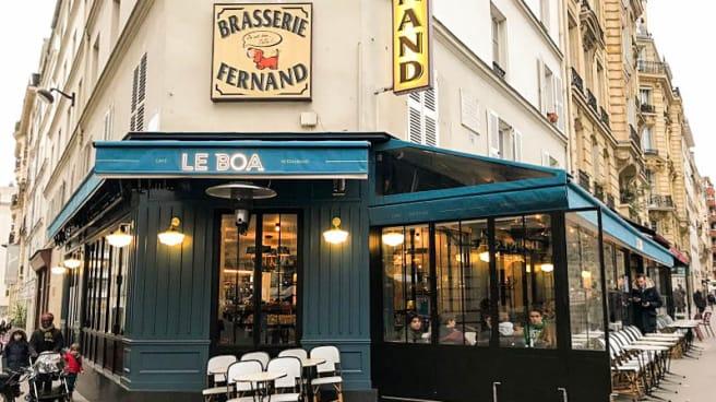 Entrée - Boa, Paris