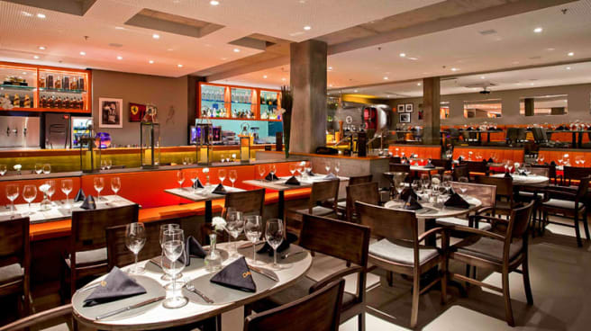 Salle du restaurant - Das Restaurante, Salvador