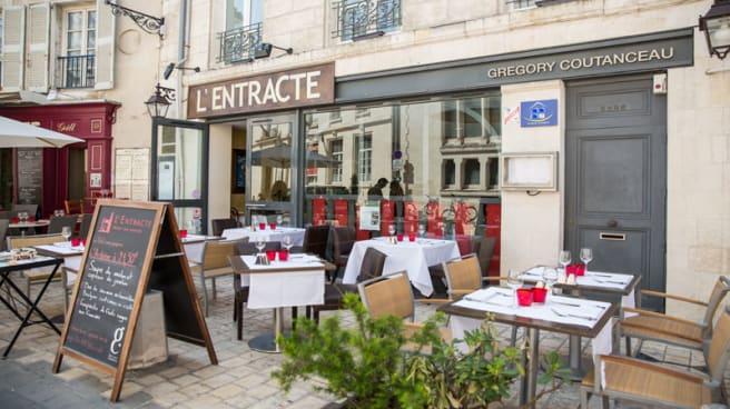 Restaurant et terrasse - L'Entracte, La Brasserie de Gregory, La Rochelle