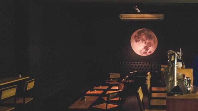 Vista del interior - Luna Bar, CABA