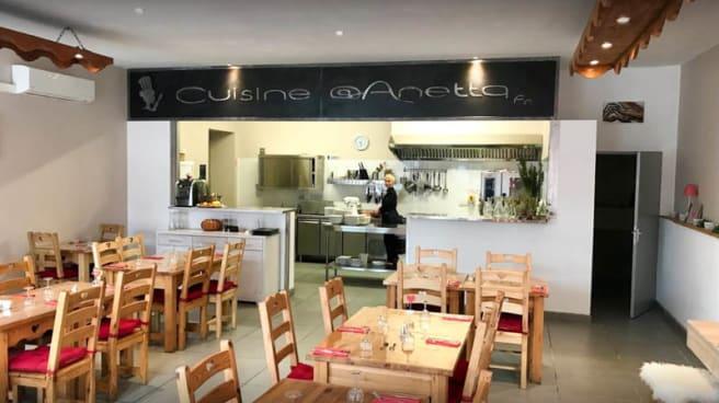 Vue de la salle - Cuisine at Anetta, Carcassonne