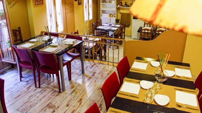 Vista del interior - El Redebal Bistro, Segovia