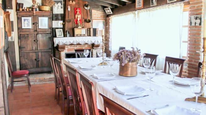 Vista sala - Casa Navarra, Mijas