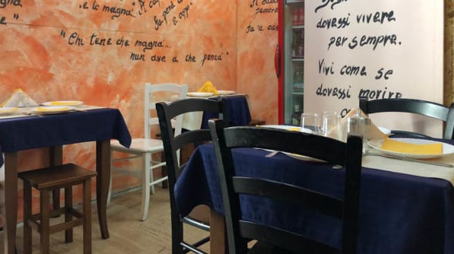 Vista sala - Just da nonno Raffaele, Salerno