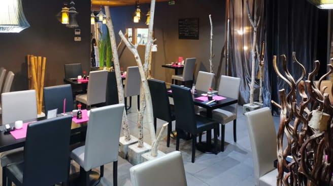 Vue de la salle - Kot et Sushi, Salon-de-Provence