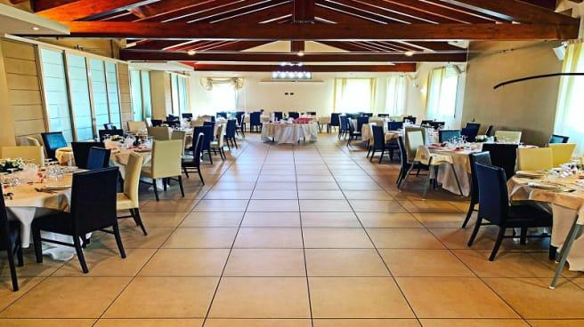Vista sala - Ristorante Borgo La Bastia