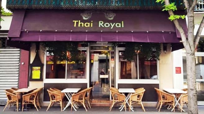 Devanture - Thai Royal, Paris
