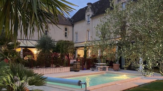 Terrasse - Hostellerie des Ducs