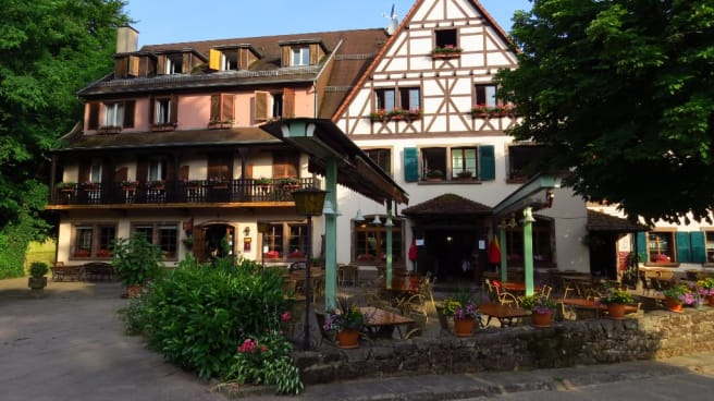 Devanture - Auberge d'Imsthal, La Petite-Pierre