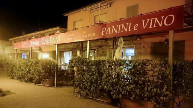 esterno ristorante - Osteria Gabbani