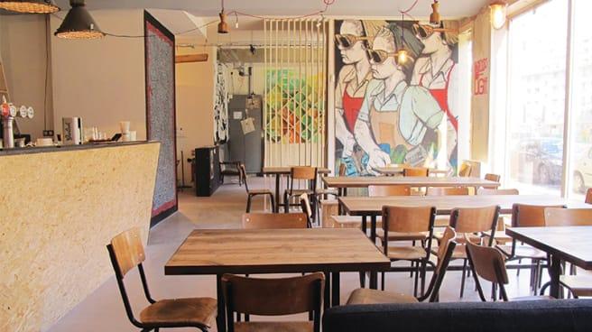 Salle de restaurant - Manufacture 111, Paris