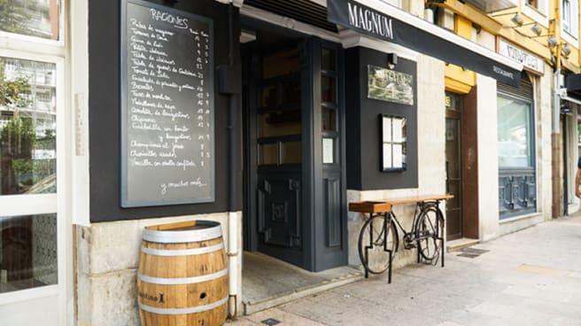 Entrada - Restaurante Magnum, Santander