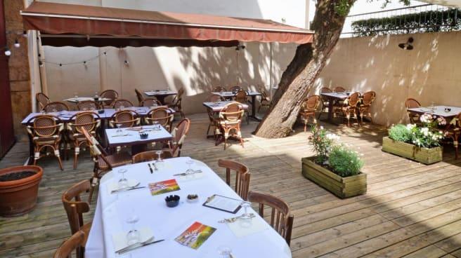 Terrasse - Café des Anges, Lyon