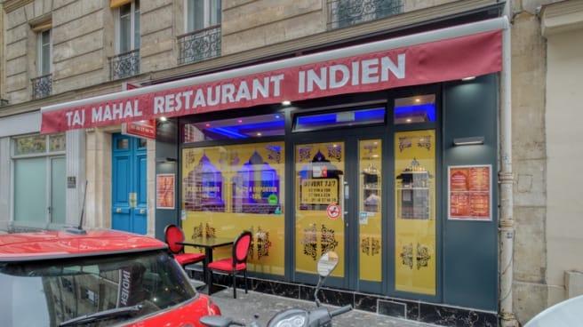 Devanture - Tajmahal, Paris