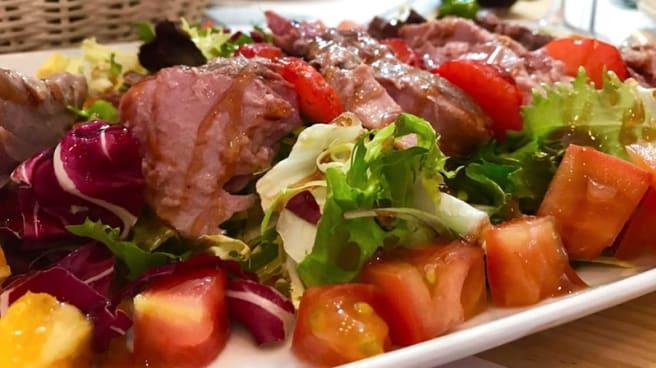 Ensalda de Atún marinado con cítricos - De Tripas Corazón, Merida