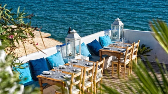 La terraza - Vivero Beach Club Restaurant, Sitges