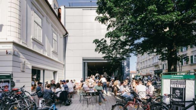 Terrasse - Kunsthauscafe, Graz