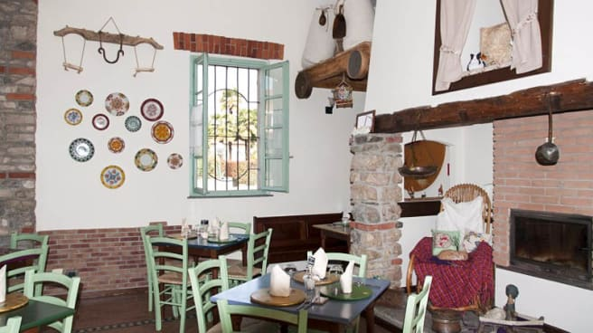 Sala del ristorante - Il Mulino di Cadrezzate