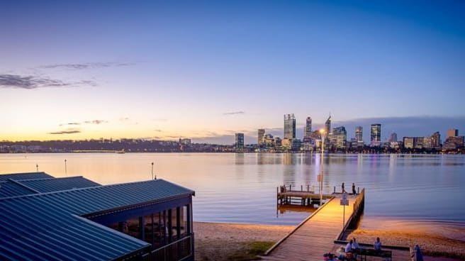 View - The Boatshed Restaurant, South Perth (WA)