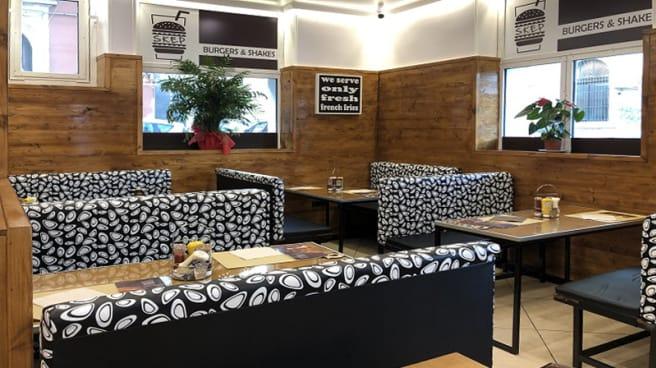 Vista della sala - Skep Burgers & Shakes, Catania