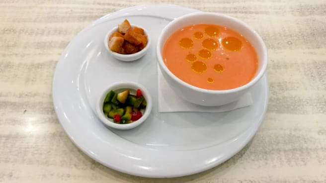 Sugerencia del chef - Tela marinera, Sitges