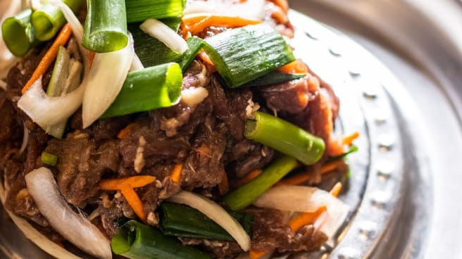 Self Cooking Beef BBQ - B One Restaurant, Canberra (ACT)