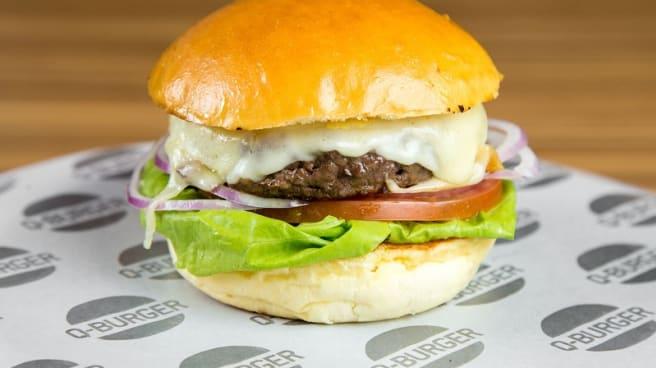Hamburguer Classic - Q-Burger Perdizes, São Paulo