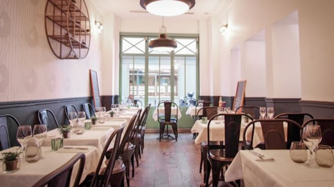 Vue salle - Restaurant AG, Paris
