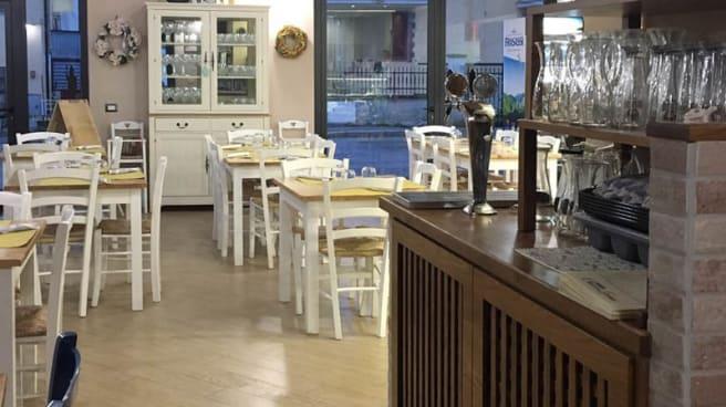 Vista sala - Pizzeria Trattoria Chicco di Grano